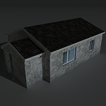 Low Poly House 2 - Extended License image 2