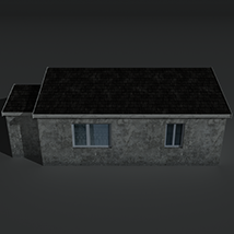 Low Poly House 2 - Extended License image 3