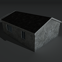 Low Poly House 2 - Extended License image 4