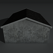 Low Poly House 2 - Extended License image 5