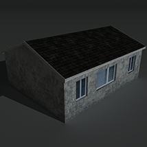 Low Poly House 2 - Extended License image 6