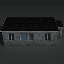 Low Poly House 2 - Extended License image 7
