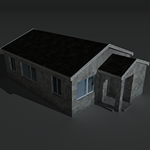 Low Poly House 2 - Extended License image 8