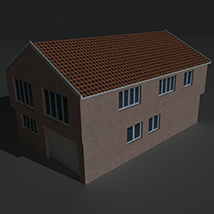 Low Poly House 3 - Extended Licence image 2
