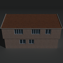 Low Poly House 3 - Extended Licence image 3
