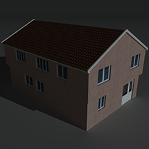 Low Poly House 3 - Extended Licence image 4