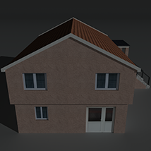 Low Poly House 3 - Extended Licence image 5