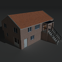 Low Poly House 3 - Extended Licence image 6