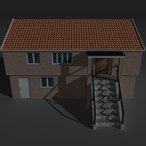 Low Poly House 3 - Extended Licence image 7