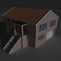 Low Poly House 3 - Extended Licence image 8