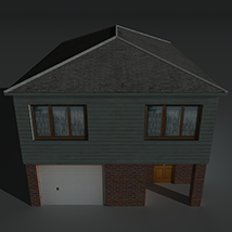 Low Poly House 4 - Extended Licence image 1