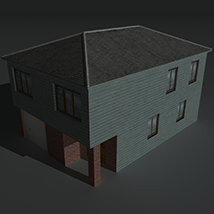 Low Poly House 4 - Extended Licence image 2