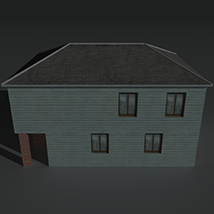 Low Poly House 4 - Extended Licence image 3