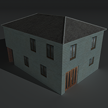 Low Poly House 4 - Extended Licence image 4