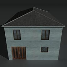 Low Poly House 4 - Extended Licence image 5