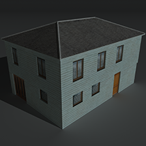 Low Poly House 4 - Extended Licence image 6