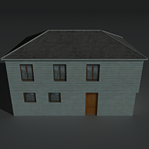 Low Poly House 4 - Extended Licence image 7