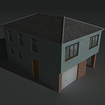 Low Poly House 4 - Extended Licence image 8