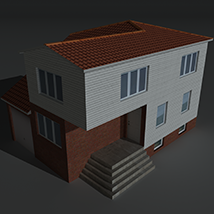 Low Poly House 5 - Extended Licence image 2