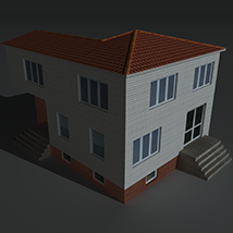 Low Poly House 5 - Extended Licence image 4