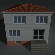 Low Poly House 5 - Extended Licence image 5