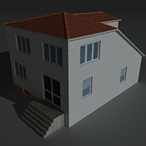 Low Poly House 5 - Extended Licence image 6