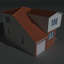 Low Poly House 5 - Extended Licence image 7