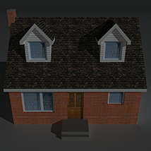 Low Poly House 6 - Extended Licence image 1