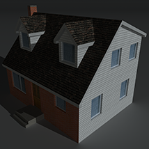 Low Poly House 6 - Extended Licence image 2