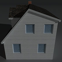 Low Poly House 6 - Extended Licence image 3