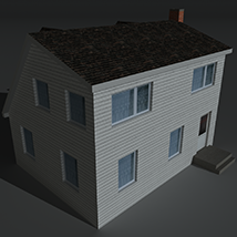 Low Poly House 6 - Extended Licence image 4