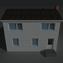 Low Poly House 6 - Extended Licence image 5