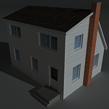Low Poly House 6 - Extended Licence image 6