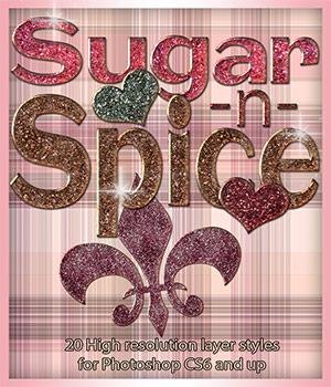 Sugar-n-Spice Styles 2D Graphics antje
