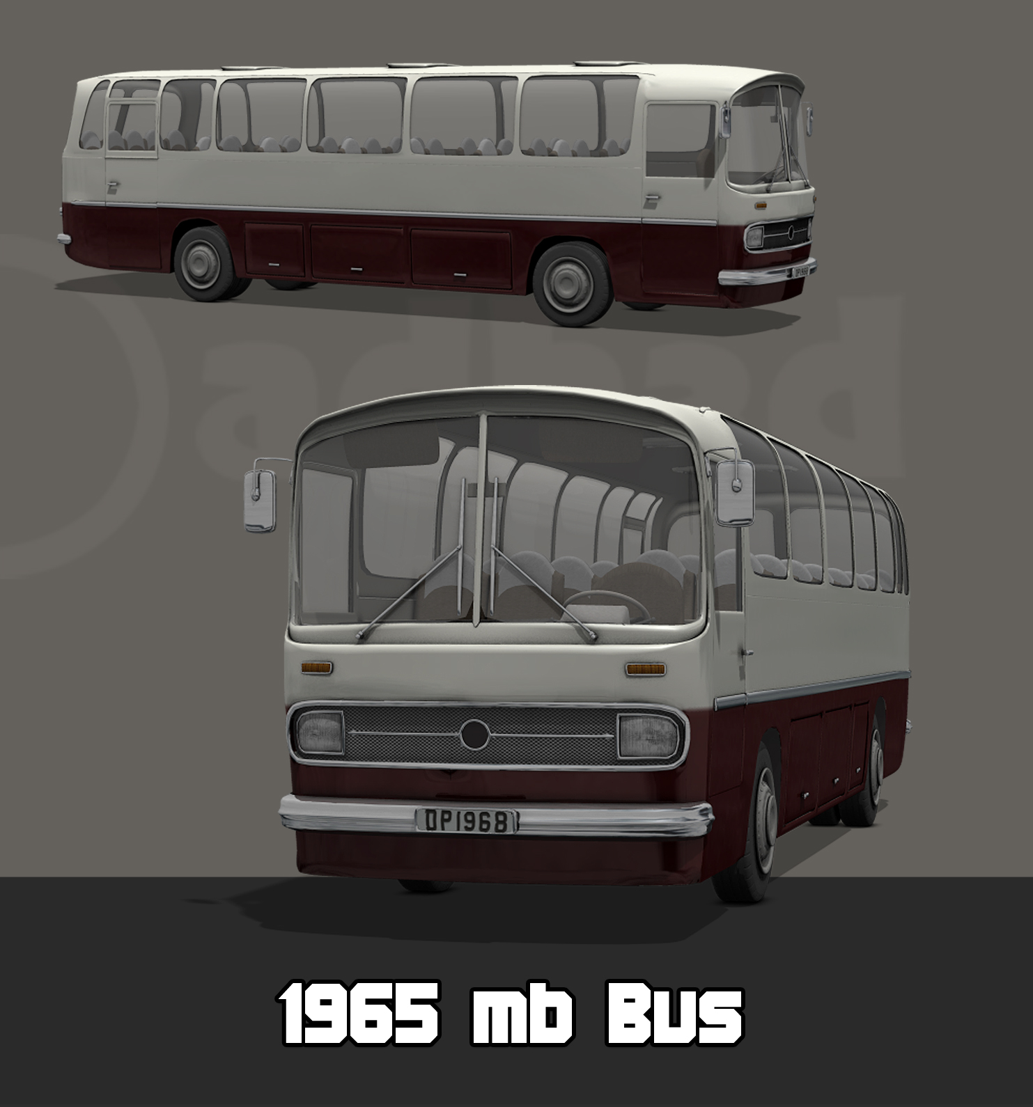 1965 MB Bus by adh3d
