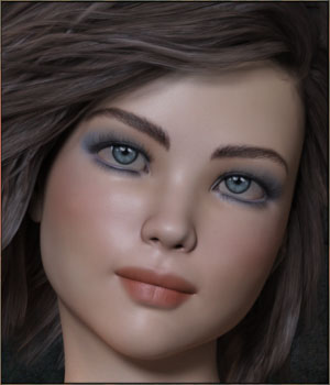 TDT-Angelique for Genesis 8 Female 3D Figure Assets Deva3D