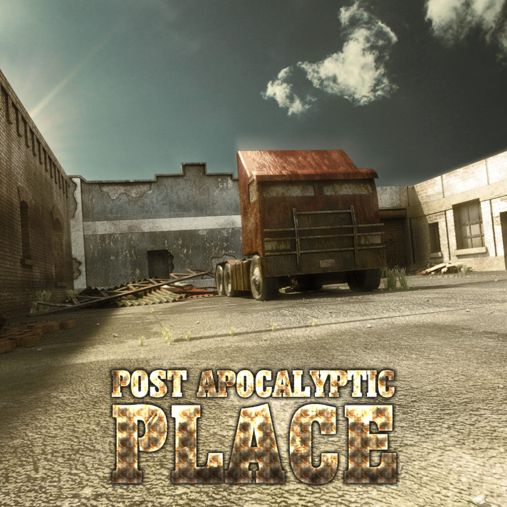 Post Apocalyptic Place by powerage