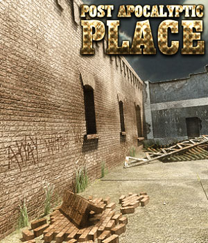 Post Apocalyptic Place 3D Models powerage