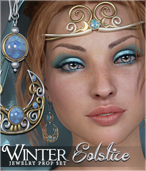 SVs Winter Solstice Jewels 3D Figure Assets Sveva
