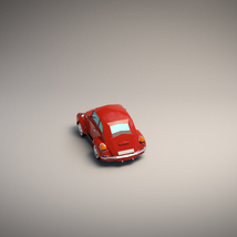 Low-Poly Cartoon City Car - Extended License image 3