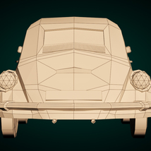 Low-Poly Cartoon City Car - Extended License image 10