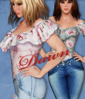 Dawn Casual 3D Figure Assets 3DTubeMagic