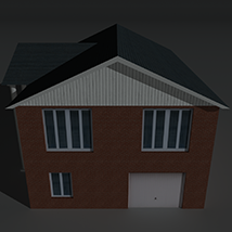 Low Poly House 8 - Extended Licence image 1