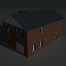 Low Poly House 8 - Extended Licence image 2