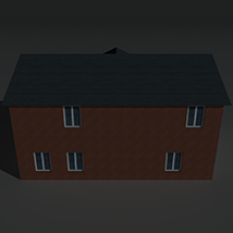 Low Poly House 8 - Extended Licence image 3