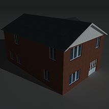 Low Poly House 8 - Extended Licence image 4