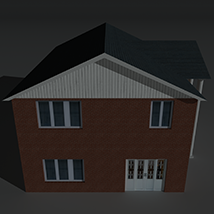 Low Poly House 8 - Extended Licence image 5