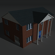 Low Poly House 8 - Extended Licence image 6