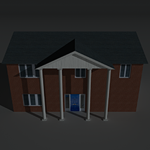 Low Poly House 8 - Extended Licence image 7