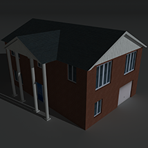 Low Poly House 8 - Extended Licence image 8